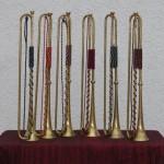 6 Trompeten für das Konzert