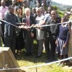 Übergabe Wasserprojekt