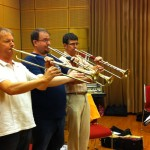 trumpets from Ricercar Consort, (Egger trumpets)