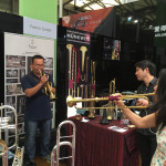 test the trumpets
